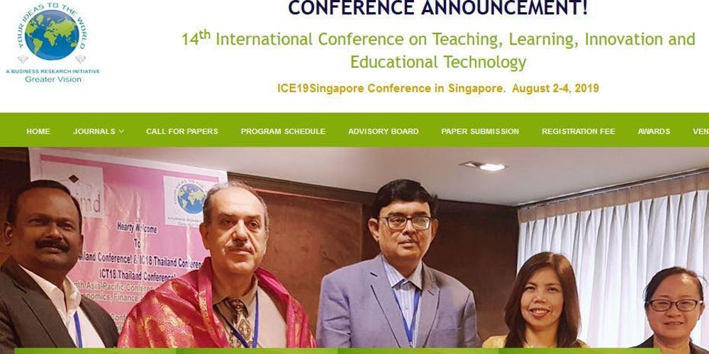 14th International Conference on Teaching, Learning, Innovation and