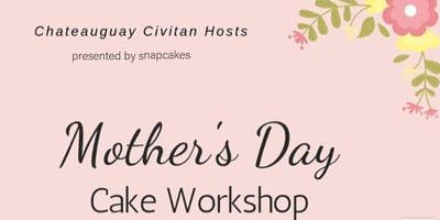 Mother's Day Cake Workshop (family up to 3 people , 1 cake)