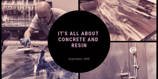 It's All about Decorative Resin and Concrete