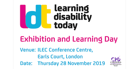 Learning Disability Today London 2019 tickets