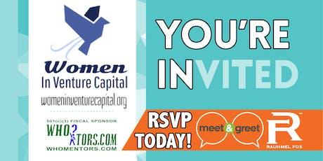 Women In Venture Capital Meet & Greet Hour: 60 people, 60 minutes tickets