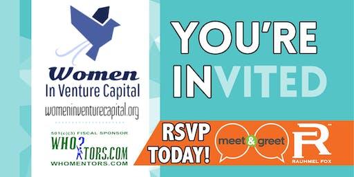 Women In Venture Capital Meet & Greet Hour: 60 people, 60 minutes