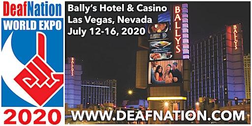 2020 DeafNation World Expo - Las Vegas, NV