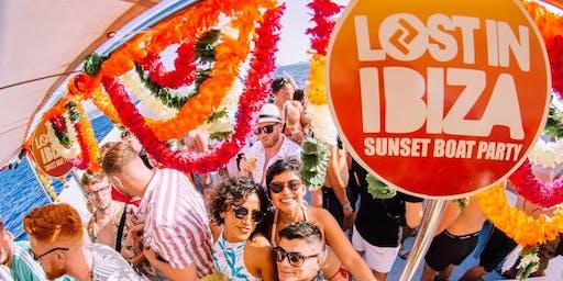 Lost In Ibiza Sunset Boat Party + Paradise @ DC10 + Amnesia + Ibiza Rocks