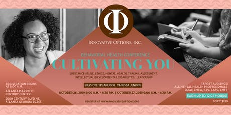 Innovative Options Behavioral Health Conference tickets