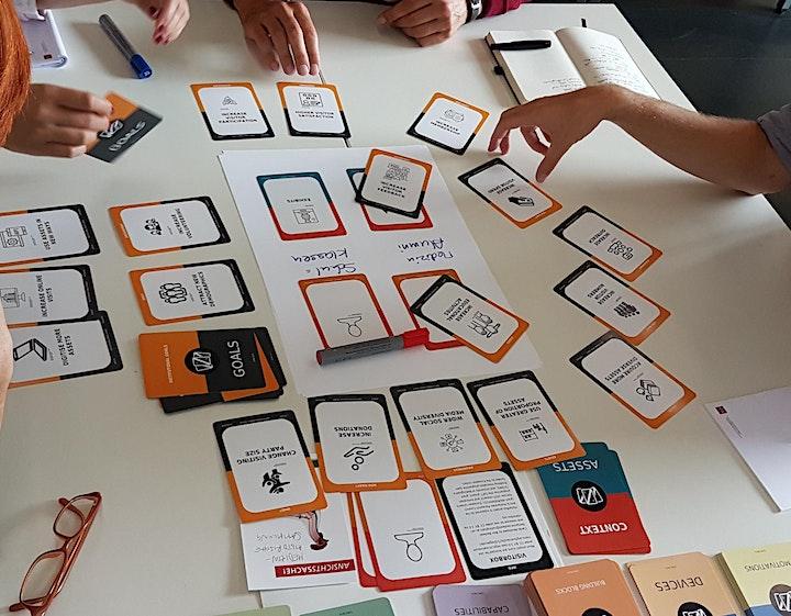 Visitorbox: Workshop zum Erlernen des Design-Kartenspiels für Ausstellungen: Bild