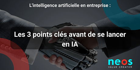 Workshop : Integrating Artificial Intelligence into Businesses tickets