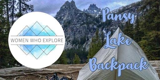 WWE Portland – Beginner's Backpack Series – Pansy Lake