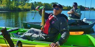 VA Hospital Mid-Week - Picatinny Lake - Kayak - July 10th 2019