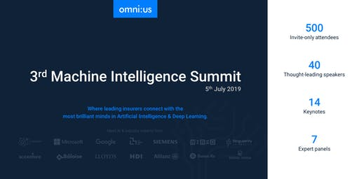 3rd omin:us Machine Intelligence Summit