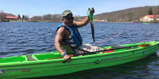VA Hospital Mid-Week - Picatinny Lake -Shore and Kayak - July 24th 2019