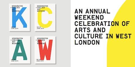 29 + 30 June 2019 Art Bus Tour by Kensington + Chelsea Art Weekend tickets