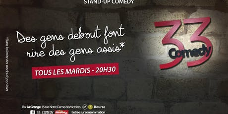 33 COMEDY CLUB  billets