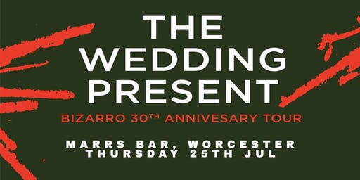 The Wedding Present - 'Bizarro' 30th Anniversary