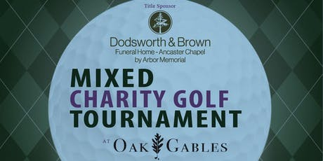 Mixed Charity Golf Tournament at Oak Gables in support of Dr. Bob Kemp Hospice tickets