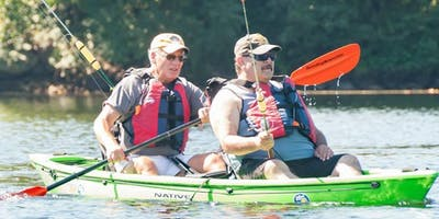 VA Hospital Mid-Week - Picatinny Lake - Kayak -September 16th 2019