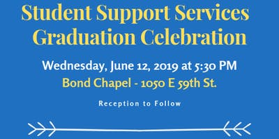 2019 Student Support Services Graduation Celebration