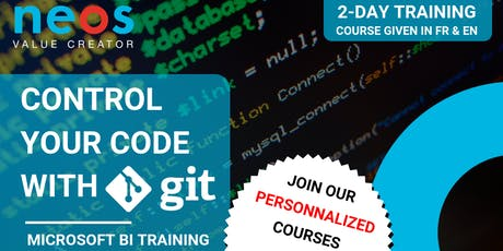 MSBI Training : Control your Code with Git billets