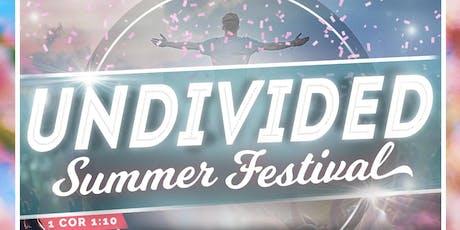 UNDIVIDED 2019 tickets