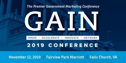 GAIN 2019 - the Premier Government Marketing Conference