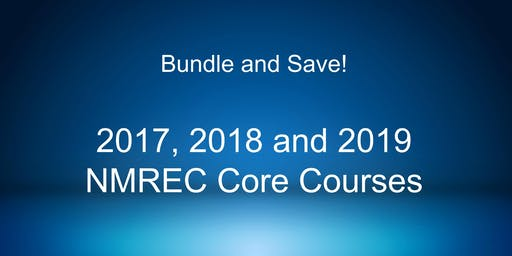 Bundle and Save 15%! 2017, 2018 and 2019 Core Courses!