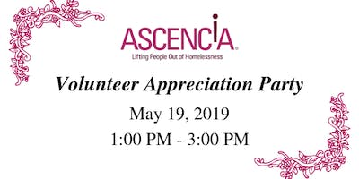 Ascencia's Volunteer Appreciation Party