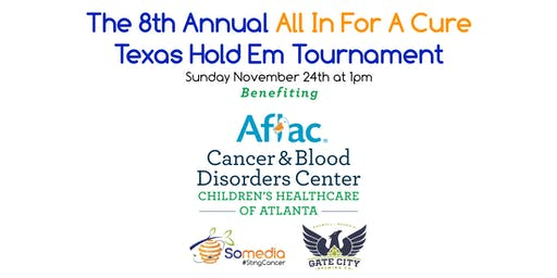 The 8th Annual All In For A Cure Texas Hold Em Tournament