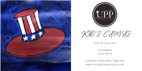 KID'S CANVAS | 4TH of July Hat tickets