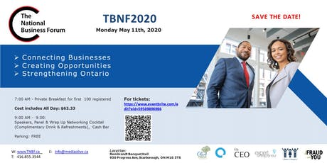 The National Business Forum - TNBF2020 tickets