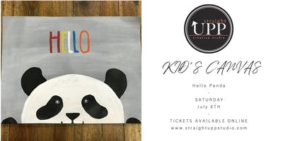 KID'S CANVAS | Hello Panda