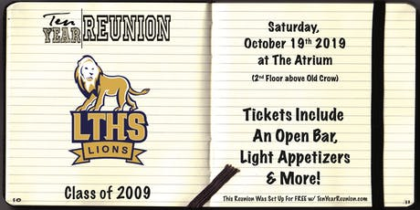 Lyons Township Class of 2009: Ten Year Reunion tickets