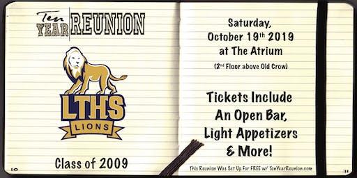 Lyons Township Class of 2009: Ten Year Reunion