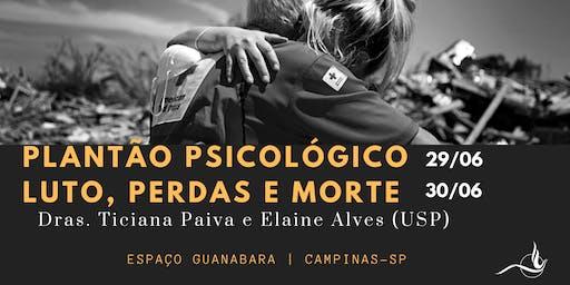 Curso Plantão Psicológico & Luto