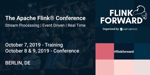 Flink Forward Berlin 2019