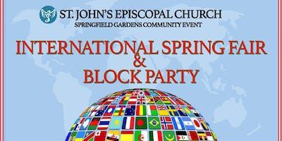 Springfield Gdns, Queens: Int'l Spring Fair Community Event