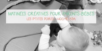 Atelier créatif parents-bébés - Les P\