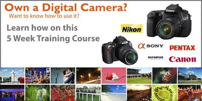 Photography Digital SLR Camera 5 Week Training Course