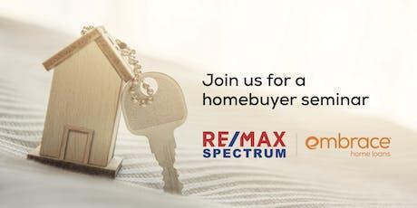 FREE Homebuyer Seminar- July tickets