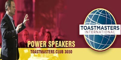 Power Speakers Toastmasters Club - Guests Welcome