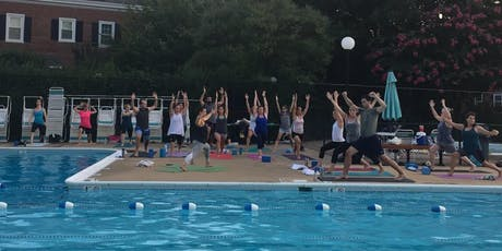 Poolside Sunset Yoga tickets