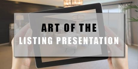 CB Bain | Art of the Listing Presentation (3 CE-WA) | See Details | Sept 26th 2019 tickets