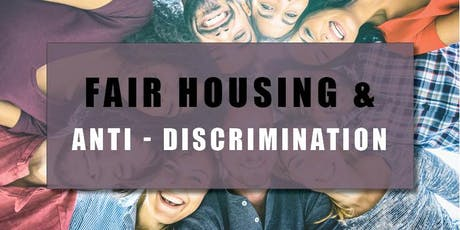 CB Bain | Fair Housing & Anti-Discrimination (3.5 CE-WA) | Tacoma Main | Nov 21st 2019 tickets