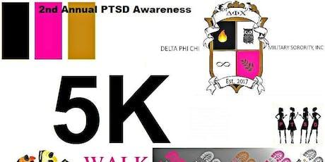 Delta Phi Chi Military Sorority 2nd PTSD Awareness 5K Walk-KILLEEN,TX. tickets