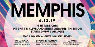 Coast 2 Coast LIVE Artist Showcase Memphis, TN - $50K Grand Prize