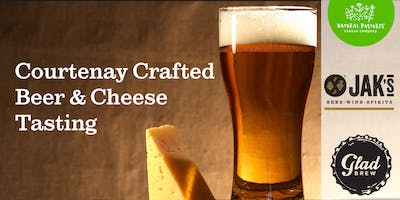 6:15 PM Courtenay Crafted Beer & Cheese Tasting