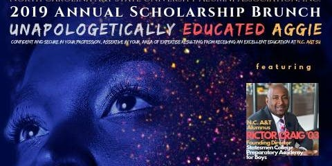 "2019 Annual Scholarship Brunch ""Unapologetically Educated Aggie"""