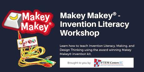 Makey Makey® - Invention Literacy Workshop - GOOSE CREEK LOCATION tickets