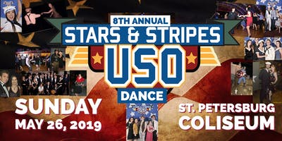 8th Annual Stars and Stripes USO Show & Dance - VIP Seating