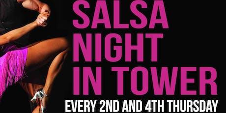 SALSA NIGHT IN TOWER tickets