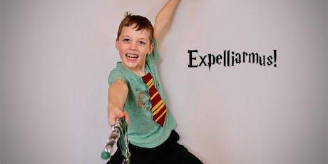 Kids: Hogwarts Express summer upcycle arts camp at Ragfinery tickets